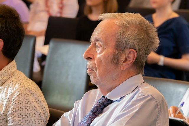 Jean Van Houtte, former rector of the University of Antwerp