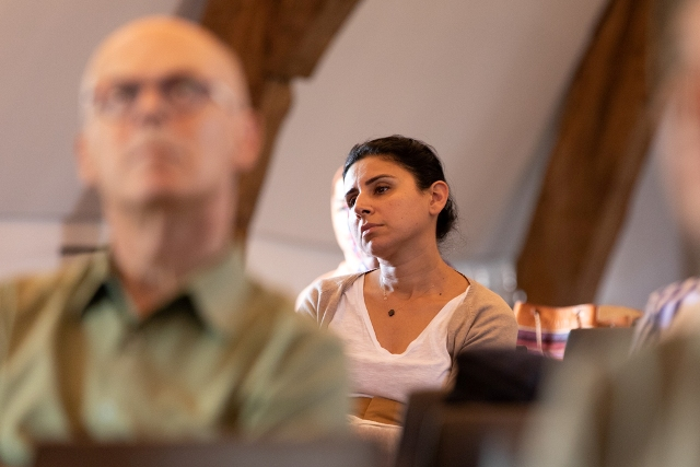audience at the second summer school lecture